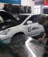 Výměna autoskla u vozu Lexus
